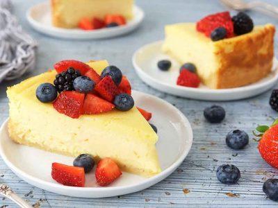 Gills Puddings Baked Vanilla Cheesecake