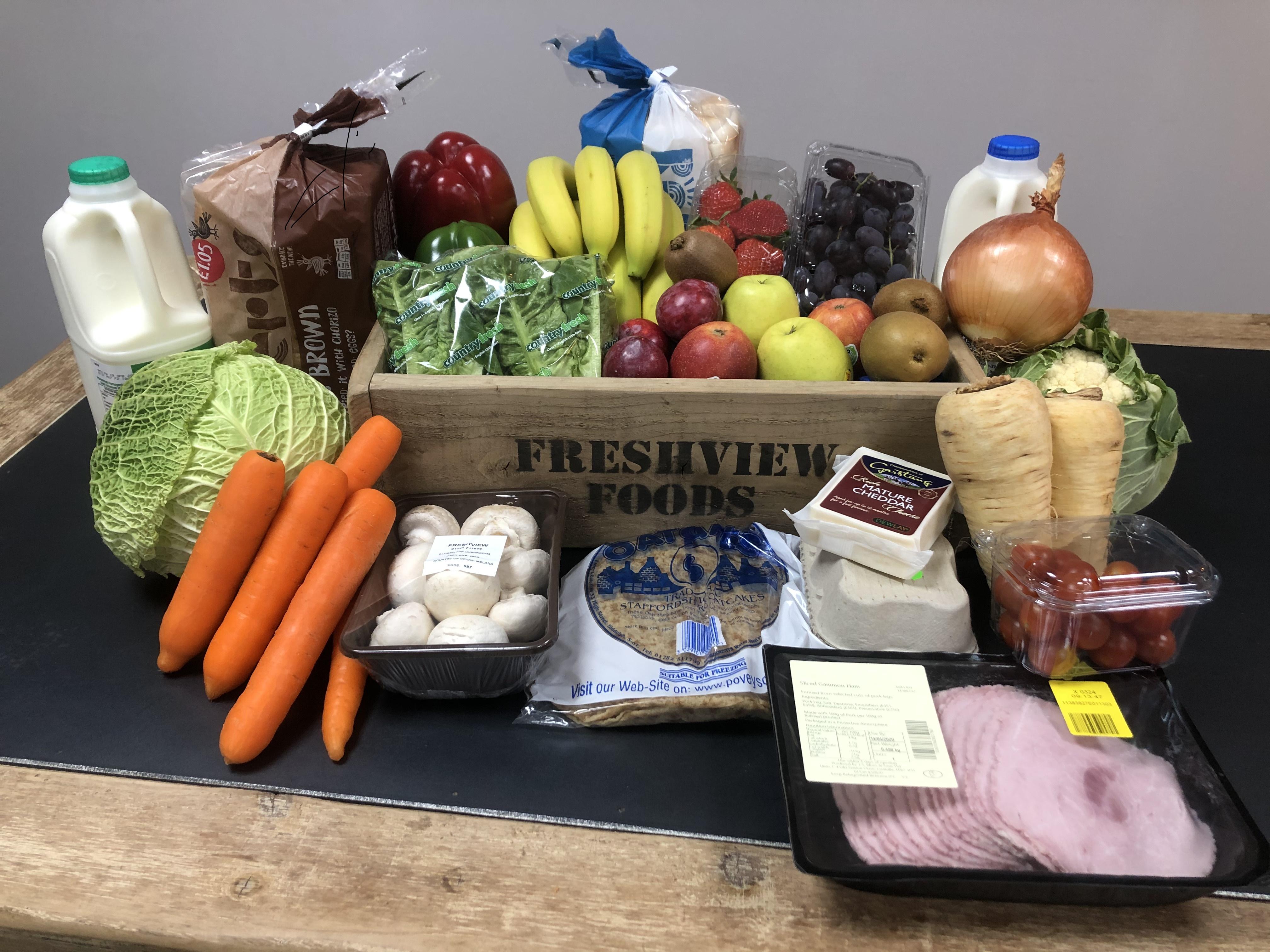 Grocery Box Freshview Foods